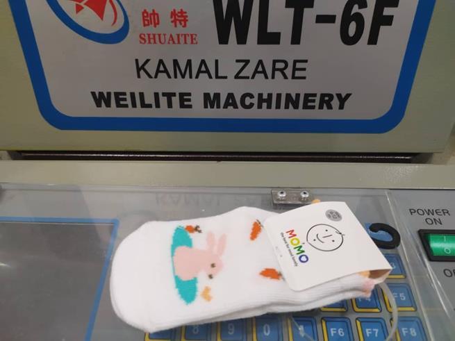 تولید جوراب بچگانه